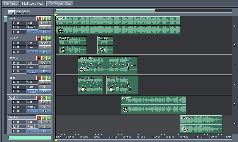 BASIC MULTITRACKING IN AUDITION - STUDIO & PRODUCTION TECHNIQUES